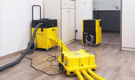 Wasserschadensanierung & Bautrocknungen