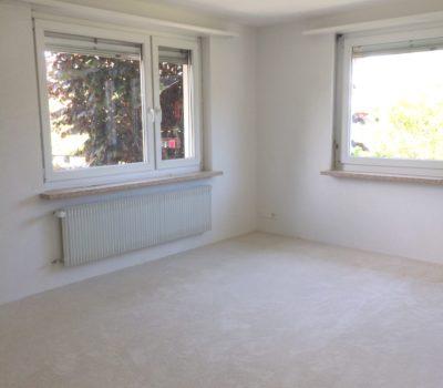 Teppich: Böden ausnivelieren / ausgleichen, Teppich verlegen inkl. Sockelleisten EFH